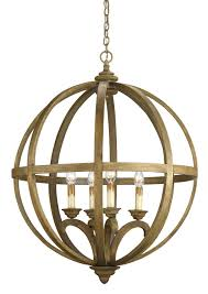 Orb Ceiling Light And Company 9015 Axel Four Light Orb Chandelier