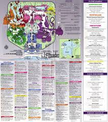 Map Of Magic Kingdom Orlando by Magic Kingdom Guidemaps 1995 1991 Page 5