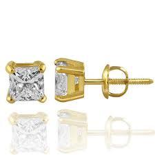 gold stud earrings for men mens diamond stud earrings diamond studs for men avianne co
