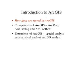 tutorial arcgis pdf indonesia arc gis introduction ppt