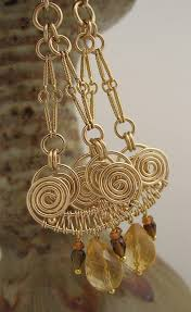 Beaded Chandelier Earrings U2013 Tracy 127 Best Wirework Images On Pinterest Birthday Gifts For