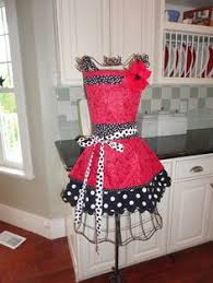 Kitchen Tea Gift Ideas Beautiful Apron Art Could Do This On My Little Dress Form Craft