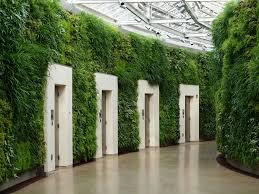 tremendous green wall with white wooden door design below modern