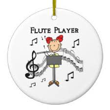 flute ornaments keepsake ornaments zazzle