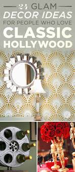24 Ways To Decorate Like You Re An Old Hollywood Star | 24 ways to decorate like you re an old hollywood star classic