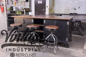vintage industrial kitchen island antique cart utility zoom
