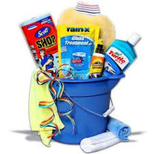 car wash detailing gift basket for a new driver car fanatic or