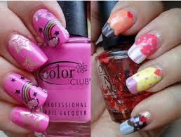 nail art girly