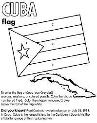 cuba country coloring cuba coloring page teaching ideas
