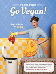 trash and go vegan with mayim bialik peta