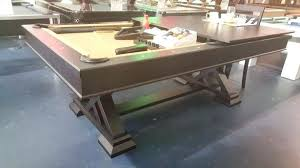 pool table conversion top pool table convert pool table converts to dining attractive archer