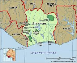 africa map ivory coast cote d ivoire culture history britannica