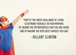 Define Selves - 10 times hillary clinton motivated us to be our best selves