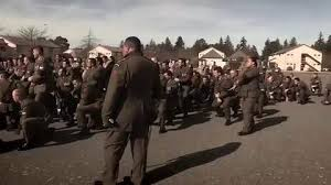 army fallen comrade table script soldiers farewell haka footage goes viral nz herald