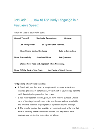 Coordinating And Subordinating Conjunctions Worksheets 11 Free Esl Persuasive Worksheets