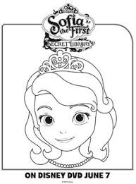 clover the rabbit from sofia the first coloring page free
