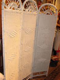 tri fold room divider white wicker tri fold room divider