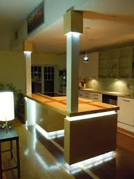 building kitchen islands custom kitchen island with led lighting 8 steps with pictures