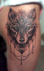 black and grey wolf tattoos 20 traditional wolf ideas