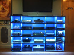 ideas about video game console on pinterest sega genesis shelving