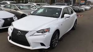 lexus service west side new ultra white 2015 lexus is 350 4dr sdn awd f sport series 2