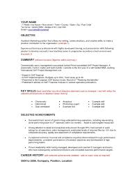 Resume Job Objective Accounting by Skills In Resume For Accountant