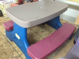 little tikes bench table little tikes park bench table bench baby kids in aurora il