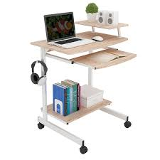 small modern computer desk modern computer desk home mobile laptop desk space saving simple