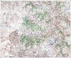 Karakorum On Map Survey Map Of Himalaya Maps U502 Interactives Political Of