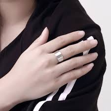 fine fashion rings images Silver ring fine fashion multi line silver jewelry rings for women jpg