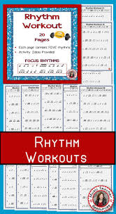 music worksheets music rhythm activities for middle