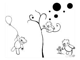 stickers nounours pour chambre bébé stickers oursons chambre bébé my