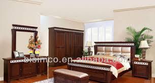 natural wood bedroom furniture vintage design bedroom furniture set classical natural wooden