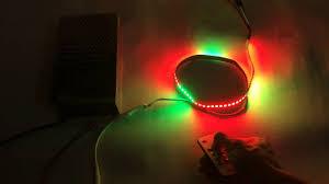 ribbon light ws2811 color led ribbon light with mini built in
