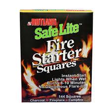safe lite fire starter 50b fire logs u0026 fire starters ace