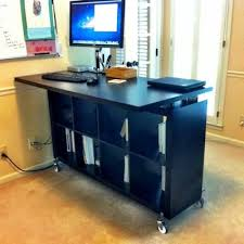 ikea reception desk ideas standing desk idea hacks that you can follow if you need a standing