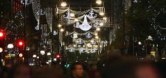 london christmas lights walking tour celebrities turn on oxford street christmas lights photos and images