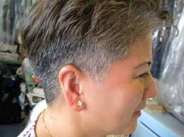 short hair longer on top and over ears short is chic with these 33 short hairstyles for older women slodive