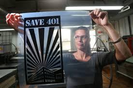 save 401 sign jpg
