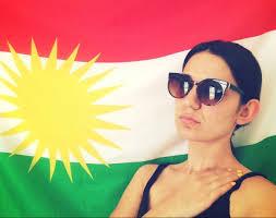 Kurdish Flag At The Border With Iraqi Kurdistan U2013 Zîv