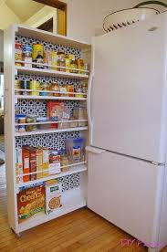 Small Space Kitchen Cabinets Best 25 Small Kitchen Pantry Ideas On Pinterest Small Pantry