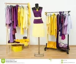 Complementary Colors by Dressing Closet With Complementary Colors Violet And Yellow
