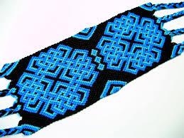 friendship bracelet knots images Blue and black celtic knot friendship bracelet by quietmischief on jpg