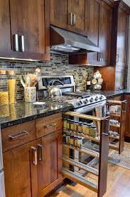pull down spice rack kitchen cabinet hardware placement