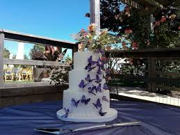 butterfly cake weddingbee photo gallery