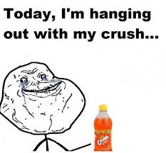 Memes Forever Alone - forever alone meme is finally meeting his crush