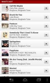 ringback tones for android verizon tones android apps on play