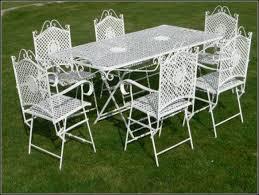 white outdoor wrought iron patio furniture patios home
