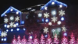 holiday light show set to u0027let it go u0027 from u0027frozen u0027 video abc news