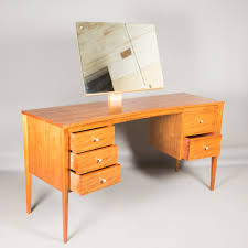 gordon russell retro 1950s 1960s walnut dressing table with
